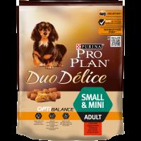 Пълноценна храна Pro Plan® DUO DELICE с Говеждо за кучета в зряла възраст от малки породи, суха храна, 700 g