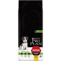 PURINA® PRO PLAN®Dog Medium Puppy с OPTISTART® за малки кученца от средни породи, суха храна, Пиле, 12kg