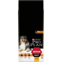 PURINA® PRO PLAN® Dog Medium Adult с OPTIBALANCE за кучета в зряла възраст от средни породи, суха храна, Пиле, 14kg