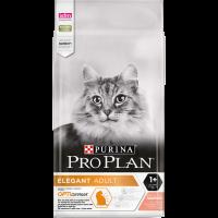 PURINA® PRO PLAN® ELEGANT, с Hairball Control, за котки в зряла възраст, със сьомга, суха, 10kg