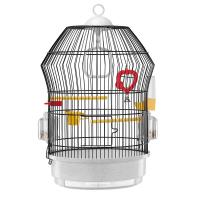 CAGE KATY BLACK – клетка за птици Ø36,5xH 52 см