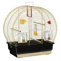 CAGE LUNA 2 BRASS – клетка за птици 45x25x45,5 cm.
