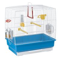 CAGE REKORD 2 WHITE – клетка за птици 39x25x41 cm.