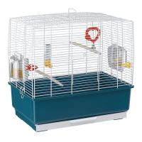 CAGE REKORD 3 WHITE – клетка за птици 49х30х48,5 см