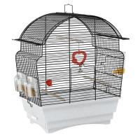 CAGE ROSA black – клетка за птици 46,5х28х54 см