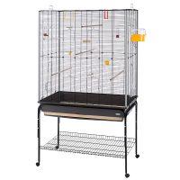 CAGE PLANETA BLACK + Stand – клетка за птици 97х58хh173,5см