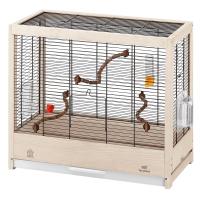 GIULIETTA 4 – дървена клетка за птици 57х30х50 см