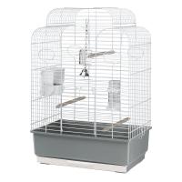 CAGE GALA WHITE – клетка за птици 50х30х75,5 см