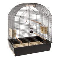 CAGE GRETA BLACK – клетка за птици 69,5х44,5х84 см