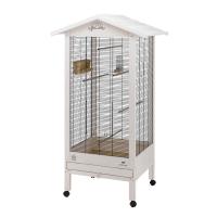 HEMMY WOODEN AVIARY – дървена къща за птици на колела 84,5х65,5х165 cм