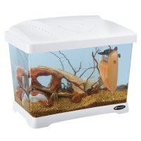 Capri Junior White – оборудван пластм. аквариум 21л., бял – 41×26,5×34 см.