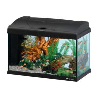 CAPRI 50 LED BLACK – аквариум 40л., черен-52x27x36см.