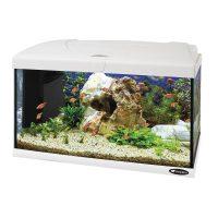 CAPRI 60 LED WHITE – аквариум 60л. , бял-60×31.5×39.5 см.