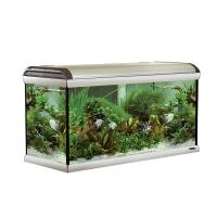 STAR 120 WITH LIGHTS – 330л, аквариум цвят инокс