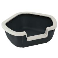 DAMA – открита ъглова котешка тоалетна