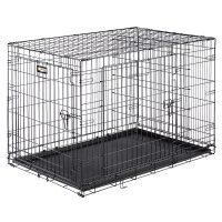 DOG-INN 105 – сглобяема клетка за дома и при пътуване 108,5х72,7х h76,8 cm