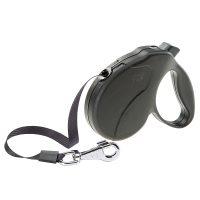 AMIGO EASY MINI TAPE BLACK – авт. повод за кучета лента 3 м./ max 12 кг.