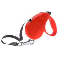 AMIGO EASY MINI TAPE RED – авт. повод за кучета лента 3 м./ max 12 кг.