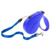 AMIGO EASY S CORD BLUE – авт. повод за кучета въже 5 м./ max 15 кг.