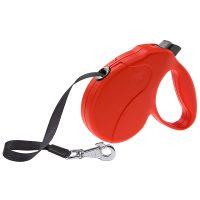 AMIGO EASY M TAPE RED – авт. повод за кучета лента 5 м./ max 25 кг.