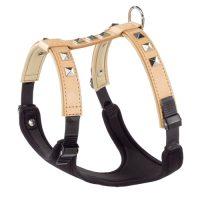 GIOTTO P M harness Nat. LUXOR – нагръдник ест.кожа бежов