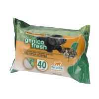 GENICO FRESH dog/cat green tea (x 40) – почистващи кърпички за кучета и котки с аромат на зелен чай 40 бр. в пакет 30x20cm