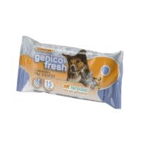 GENICO FRESH dog/cat talk (x 40) – почистващи кърпички за кучета и котки с аромат на талк 40 бр. в пакет 30x20cm