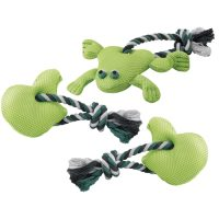 PA 6515 – памучен шнур за кучета 1 възел с играчка