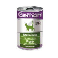 Paté Sterilized with Turkey – Консерва пастет за кастрирани котки в зряла възраст с пуйка