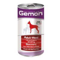 Adult Maxi Beef and Rice – За кучета над 1 г., 32-80кг. – консерва хапки с говеждо и ориз – 1.25kg
