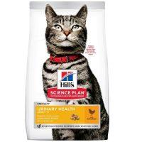Hill's Science Plan Urinary Health Adult с пилешко – Пълноценна суха храна за котки над 1 г. за профилактика и поддържане на уринарния тракт – 7 кг
