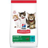 Hill's Science Plan Kitten с риба тон – Подрастващи котенца от отбиването до 1г., бременни или кърмещи котки – 1,5 кг