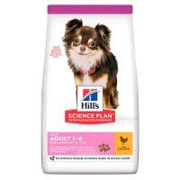 Hill's Science Plan Light Small&Mini с пилешко – Пълноценна суха храна за по-слабо активни кучета в зряла възраст от малките породи – 6 кг