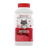 Deodo Odour Control Strawberry – дезодорант на прах за котешка тоалетна с аромат на ягода