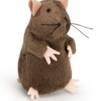 Плюшена мишка с mikrochip