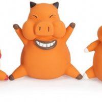 Играчка латекс FUNNY PIG – 10 см.