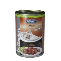 Dr.Clauder s Premium – с месо от пилешки сърца 415 гр