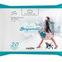 Почистващи кърпички с аромат на BERGAMOTTO – 20бр.