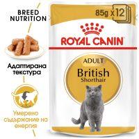 ROYAL CANIN® BRITISH SHORTHAIR POUCH 12x85g