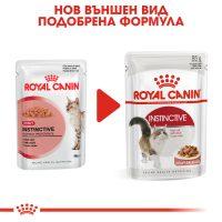 ROYAL CANIN® INSTINCTIVE IN GRAVY 12x85g