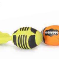 Играчка топка ракета 17см