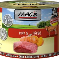 MAC'S DOG 200гр. ГОВЕЖДО и ТИКВА