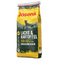 (22/14)-Josera LACHS& KARTOFFEL   суха храна за чуствителни кучета -0,9кг.