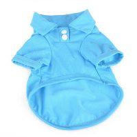 Кучешка риза- поло – син цвят S размер