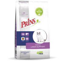 Prins Vital Care Diet LIVER SUPPORT- за поддържане на чернодробната функция при израснали котки-1.5кг