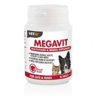 MEGAVIT мултивитаминни таблетки 30бр