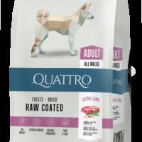 QUATTRO EXTRA LAMB за израснали кучета от всички породи с агнешно – 12 кг