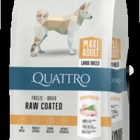 QUAТTRO ADULT MAXI за израснали кучета от едри и гигантски породи с пилешко – 12 кг