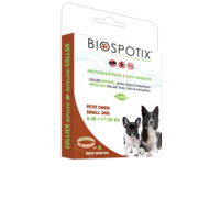 BIOSPOTIX Противопаразитна каишка куче 38см