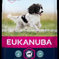 EUK DOG ADULT MEDIUM – 15+3 кг